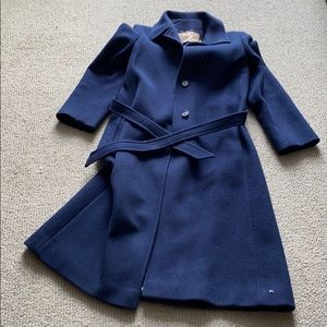 Vintage 100% Wool Pendleton Long Pea Coat